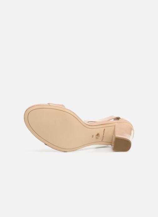Sandales et nu-pieds Tamaris Alliaire Beige vue haut