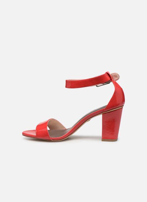 Sandales et nu-pieds Tamaris Alliaire Rouge vue face