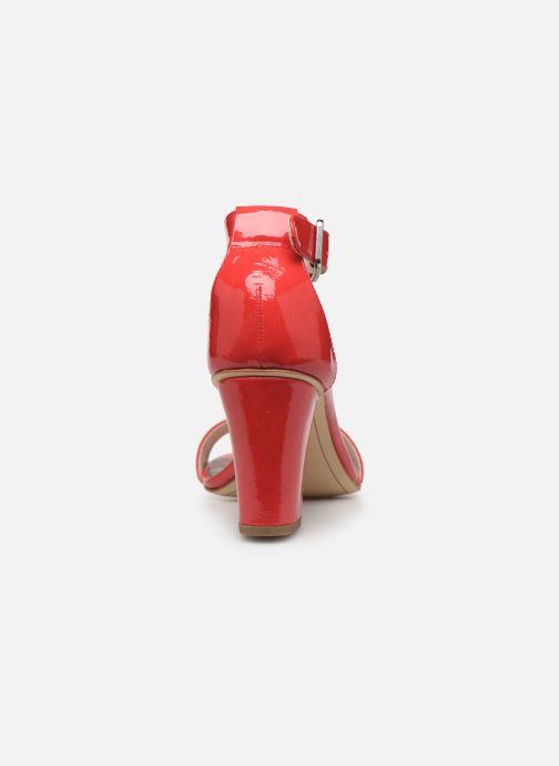 Sandales et nu-pieds Tamaris Alliaire Rouge vue droite