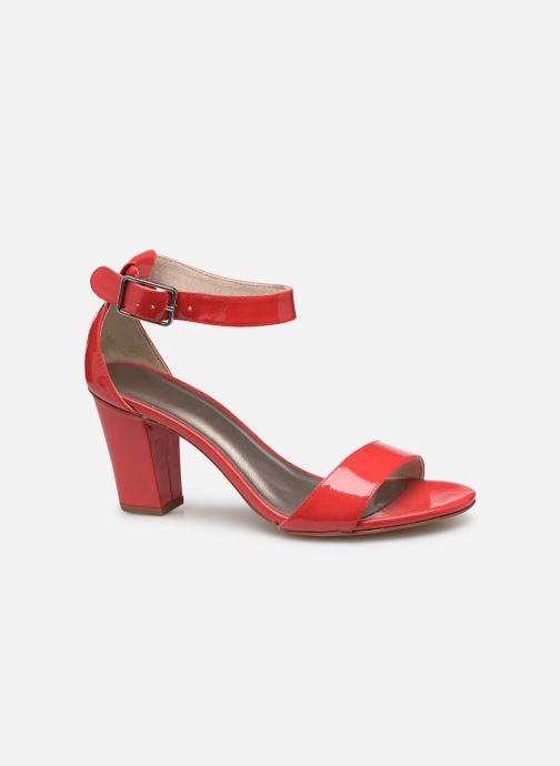 Sandales et nu-pieds Tamaris Alliaire Rouge vue derrière
