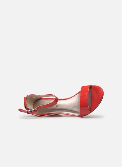 Sandales et nu-pieds Tamaris Alliaire Rouge vue gauche