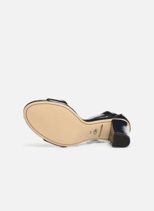 Sandales et nu-pieds Tamaris Alliaire Bleu vue haut