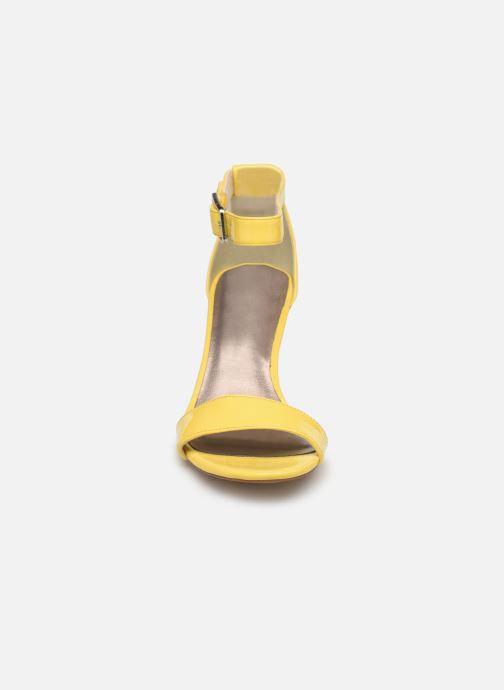 Sandales et nu-pieds Tamaris Alliaire Jaune vue portées chaussures
