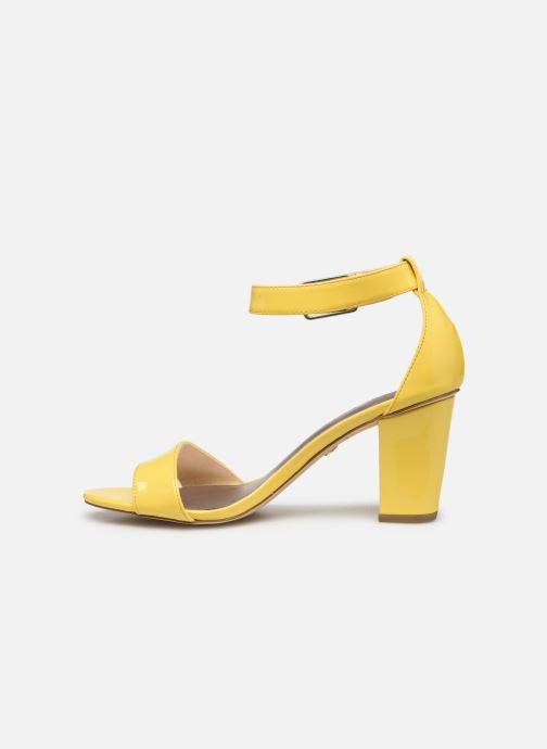 Sandales et nu-pieds Tamaris Alliaire Jaune vue face