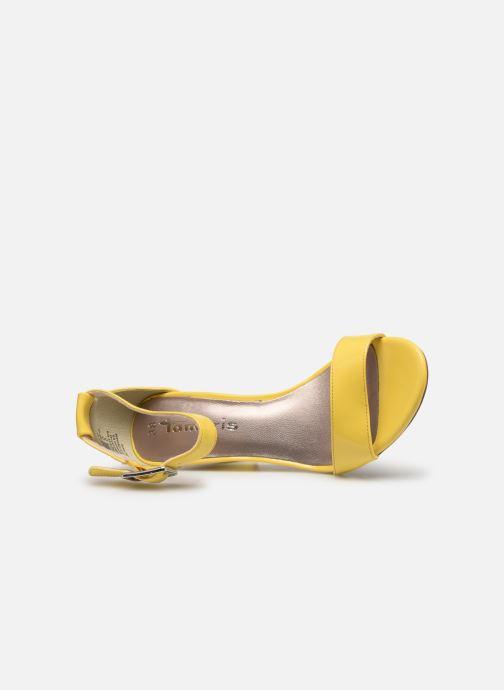 Sandales et nu-pieds Tamaris Alliaire Jaune vue gauche