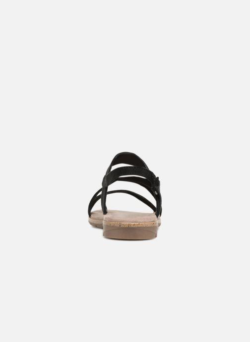 Sandales et nu-pieds Tamaris Aurone Noir vue droite