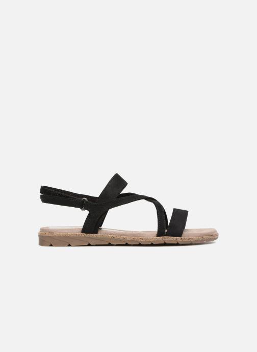 Sandales et nu-pieds Tamaris Aurone Noir vue derrière