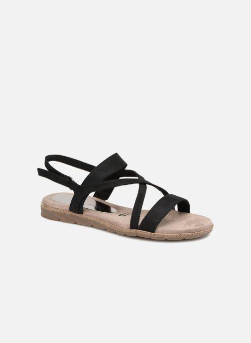 Sandales et nu-pieds Tamaris Aurone Noir vue détail/paire