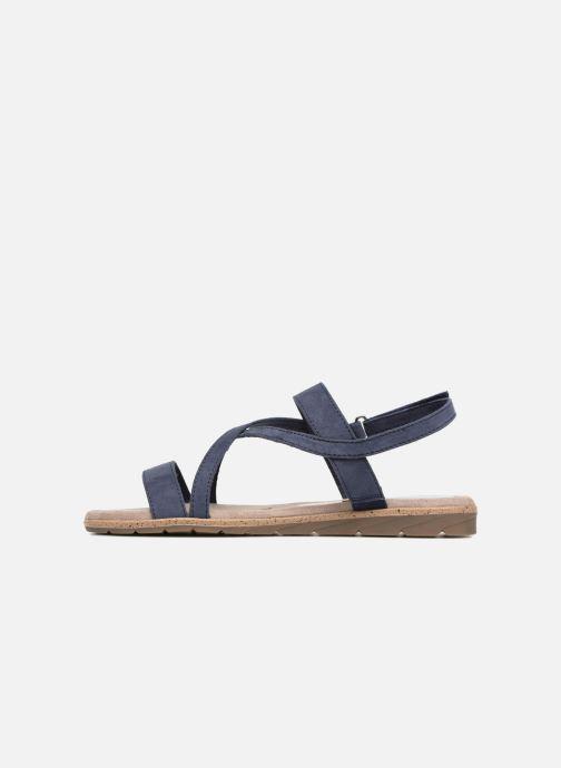 Sandales et nu-pieds Tamaris Aurone Bleu vue face