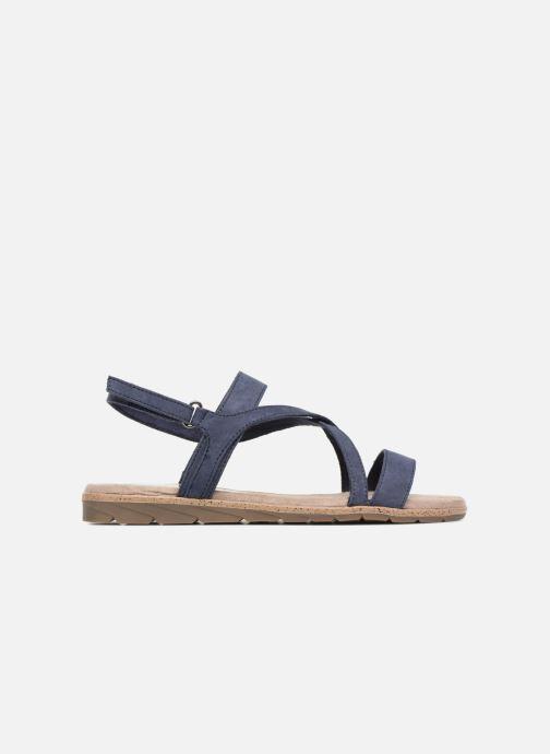 Sandales et nu-pieds Tamaris Aurone Bleu vue derrière