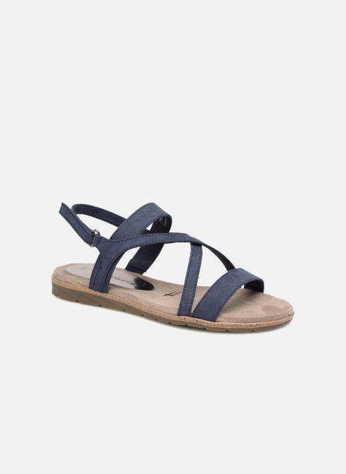 Sandales et nu-pieds Tamaris Aurone Bleu vue détail/paire