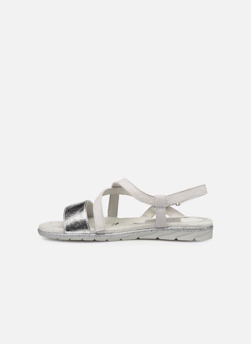Sandales et nu-pieds Tamaris Aurone Gris vue face