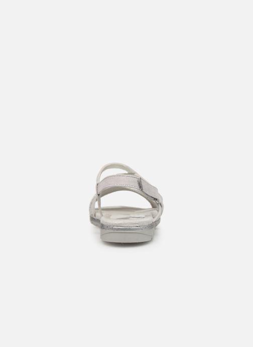 Sandales et nu-pieds Tamaris Aurone Gris vue droite