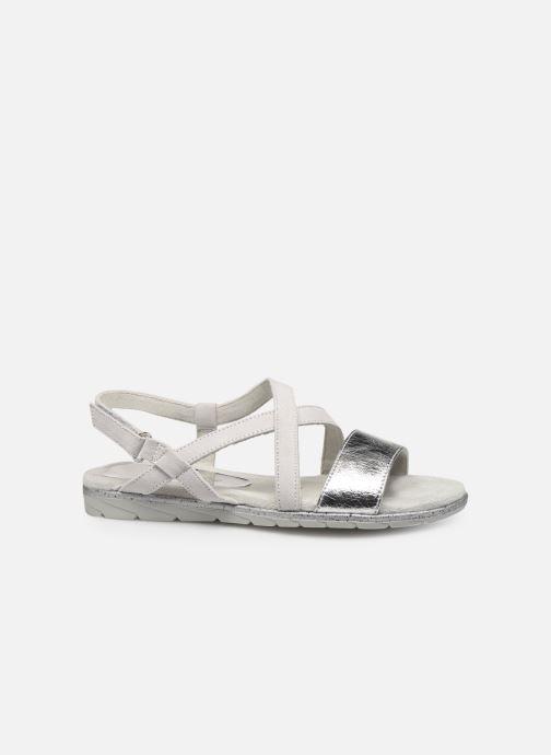 Sandales et nu-pieds Tamaris Aurone Gris vue derrière