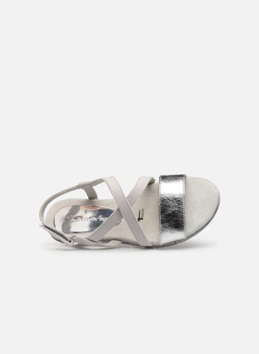 Sandales et nu-pieds Tamaris Aurone Gris vue gauche