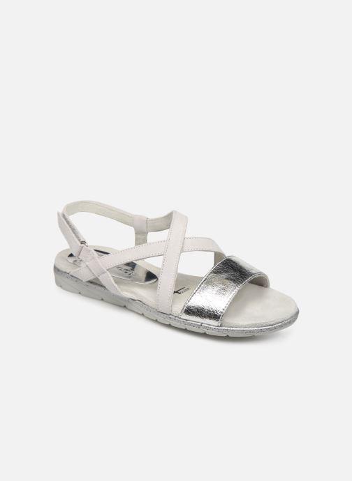 Sandales et nu-pieds Tamaris Aurone Gris vue détail/paire