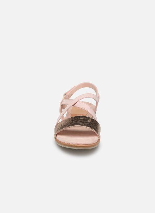 Sandales et nu-pieds Tamaris Aurone Rose vue portées chaussures