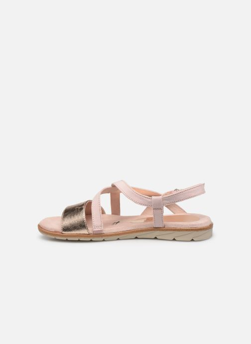 Sandales et nu-pieds Tamaris Aurone Rose vue face