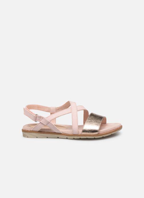 Sandales et nu-pieds Tamaris Aurone Rose vue derrière