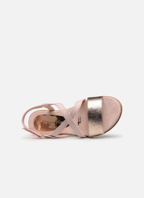 Sandales et nu-pieds Tamaris Aurone Rose vue gauche