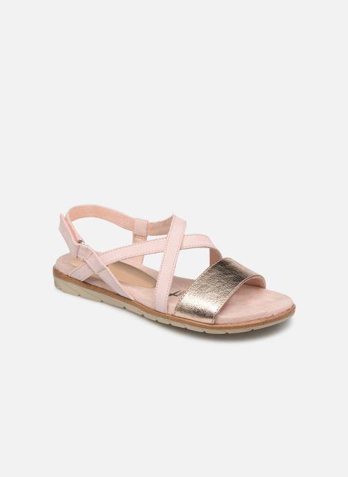 Sandales et nu-pieds Tamaris Aurone Rose vue détail/paire