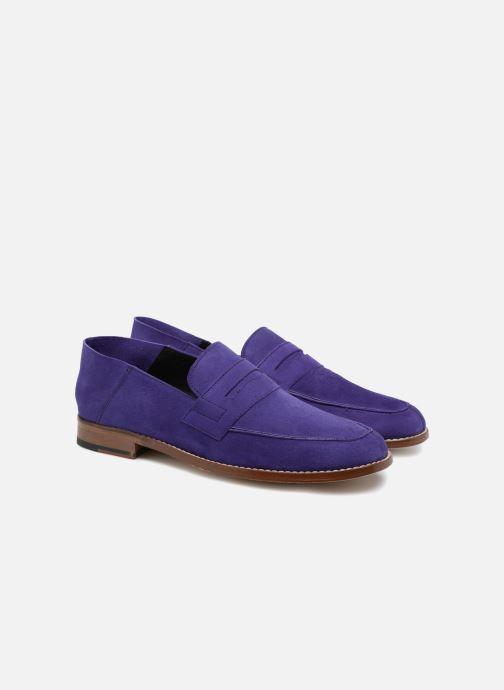 Loafers Valentine Gauthier Fender Blue 3/4 view