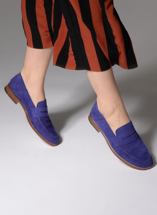 Loafers Valentine Gauthier Fender Blue view from underneath / model view