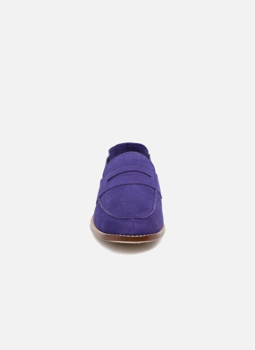 Mocassins Valentine Gauthier Fender Bleu vue portées chaussures