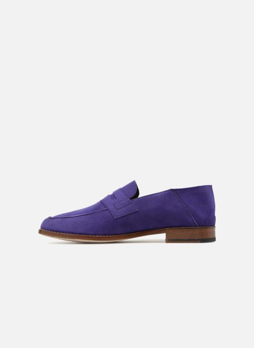 Loafers Valentine Gauthier Fender Blue front view