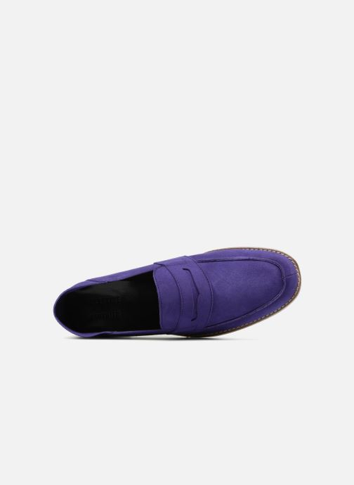 Loafers Valentine Gauthier Fender Blue view from the left