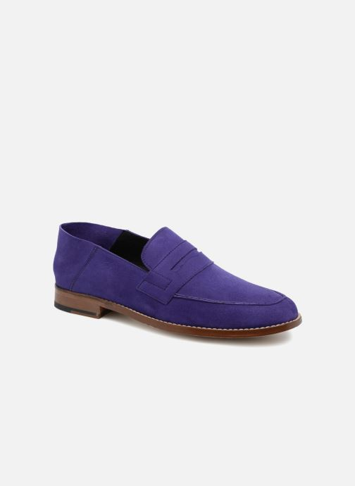 Loafers Valentine Gauthier Fender Blue detailed view/ Pair view
