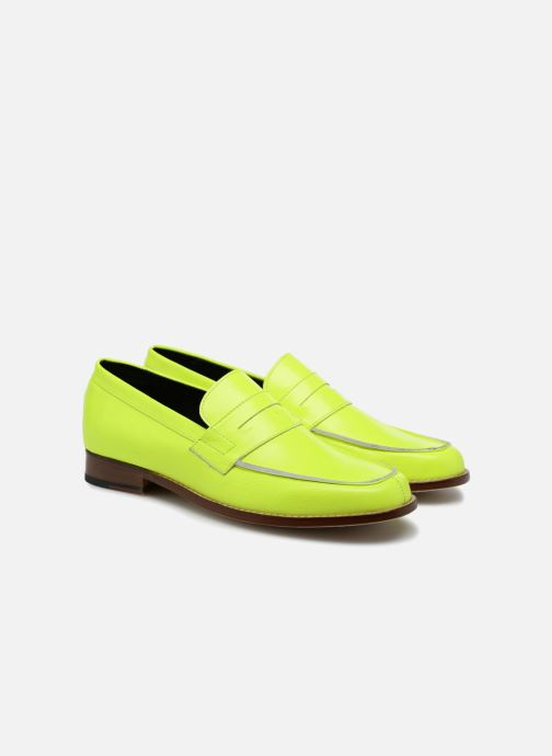 Loafers Valentine Gauthier Fender Yellow 3/4 view