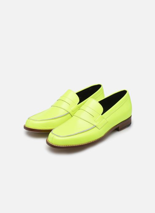 Loafers Valentine Gauthier Fender Yellow view from underneath / model view