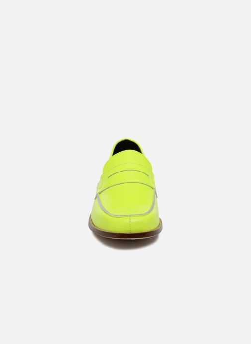Loafers Valentine Gauthier Fender Yellow model view
