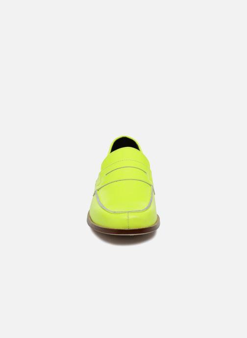 Mocassins Valentine Gauthier Fender Jaune vue portées chaussures