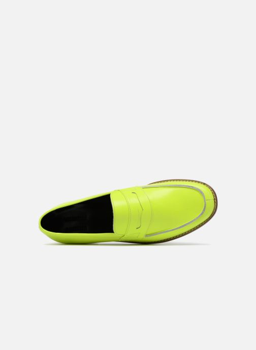 Loafers Valentine Gauthier Fender Yellow view from the left