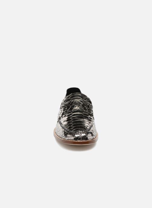 Mocassins Valentine Gauthier Fender Argent vue portées chaussures