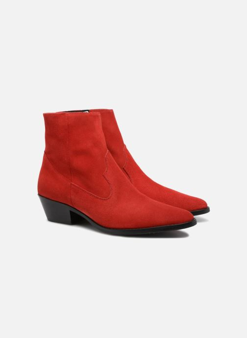 Bottines et boots Valentine Gauthier Keith Rouge vue 3/4