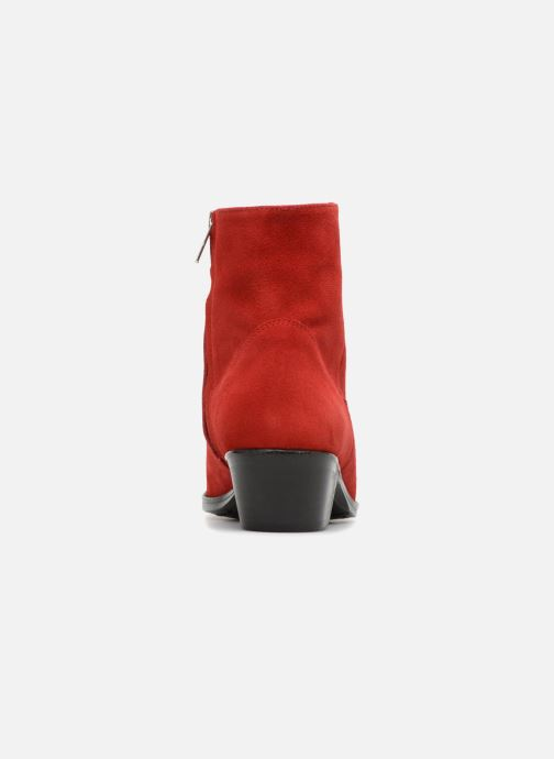 Stiefeletten & Boots Valentine Gauthier Keith rot ansicht von rechts