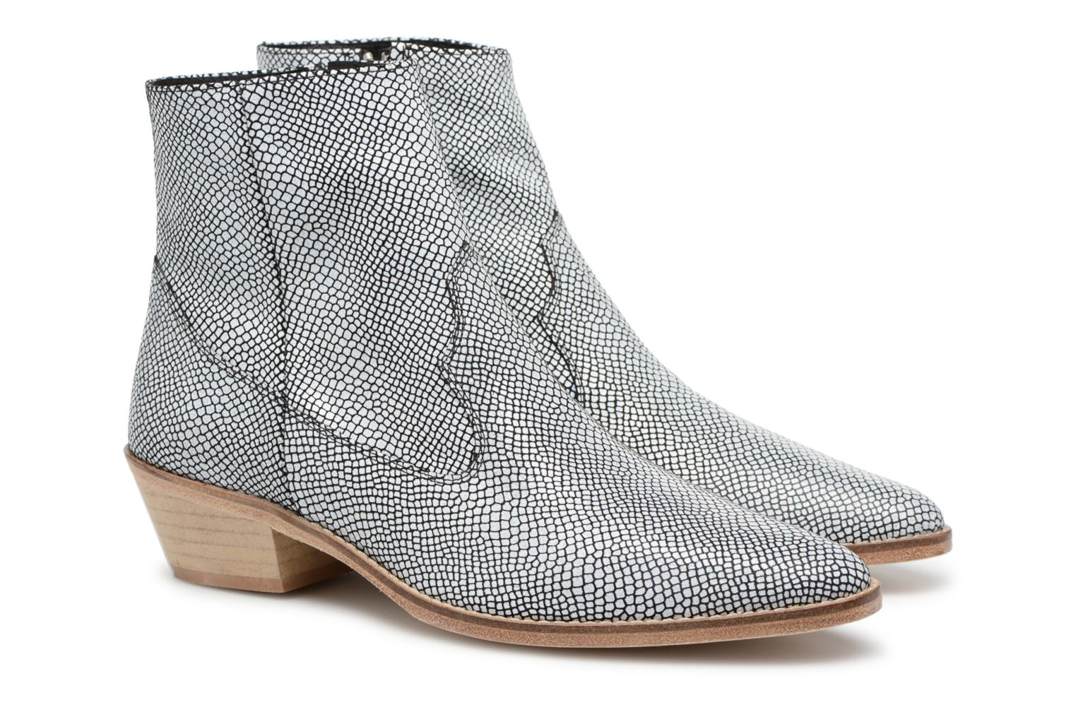 Ankle boots Valentine Gauthier Keith Black 3/4 view