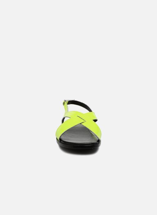 Sandales et nu-pieds Valentine Gauthier Houston Jaune vue portées chaussures