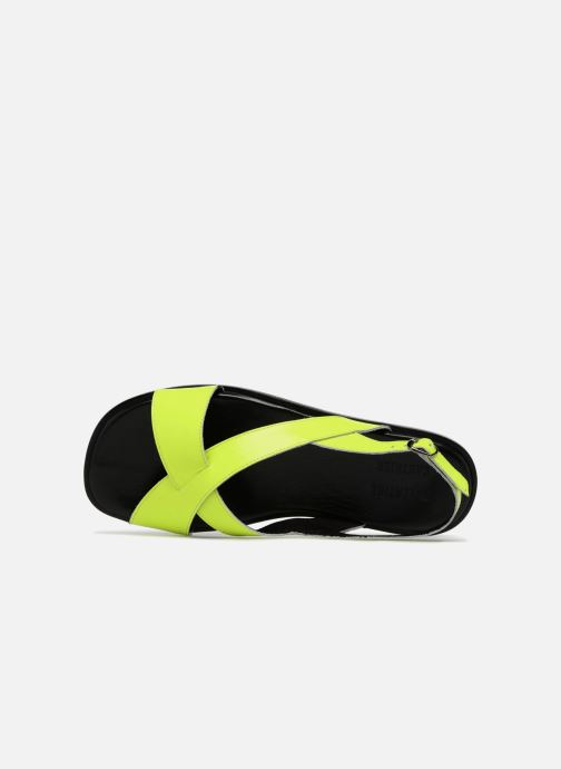 Sandales et nu-pieds Valentine Gauthier Houston Jaune vue gauche