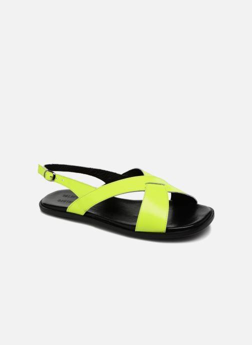 Sandales et nu-pieds Valentine Gauthier Houston Jaune vue détail/paire