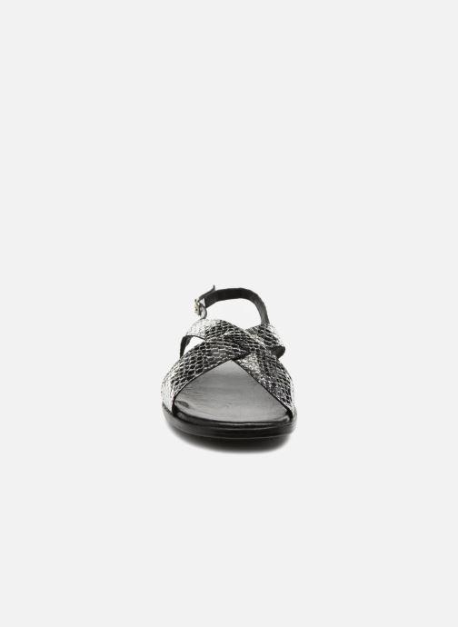 Sandales et nu-pieds Valentine Gauthier Houston Argent vue portées chaussures