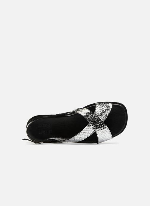 Sandales et nu-pieds Valentine Gauthier Houston Argent vue gauche
