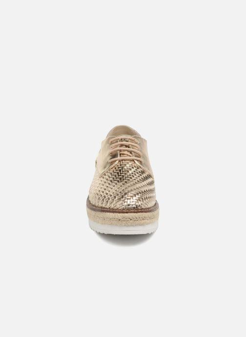 Chaussures à lacets Tamaris Bardane Or et bronze vue portées chaussures