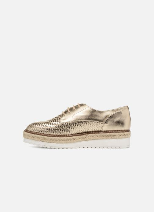 Chaussures à lacets Tamaris Bardane Or et bronze vue face