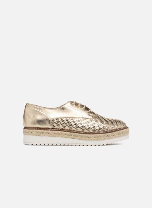 Chaussures à lacets Tamaris Bardane Or et bronze vue derrière
