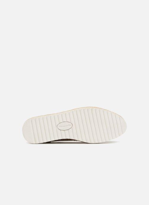 Chaussures à lacets Tamaris Bardane Or et bronze vue haut