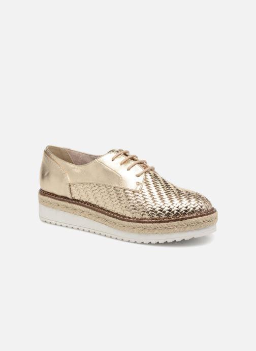 Chaussures à lacets Tamaris Bardane Or et bronze vue détail/paire